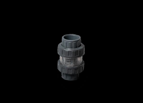 PVC Gözetleme Camlı Çekvalf