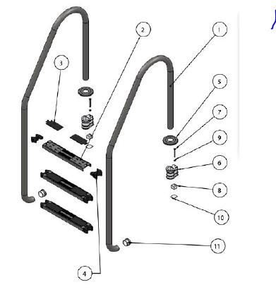 Merdiven Yedek Parçaları